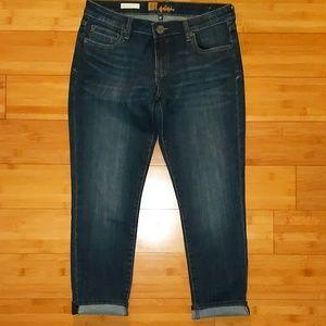 Kut from the kloth boyfriend dark wash jeans 6p